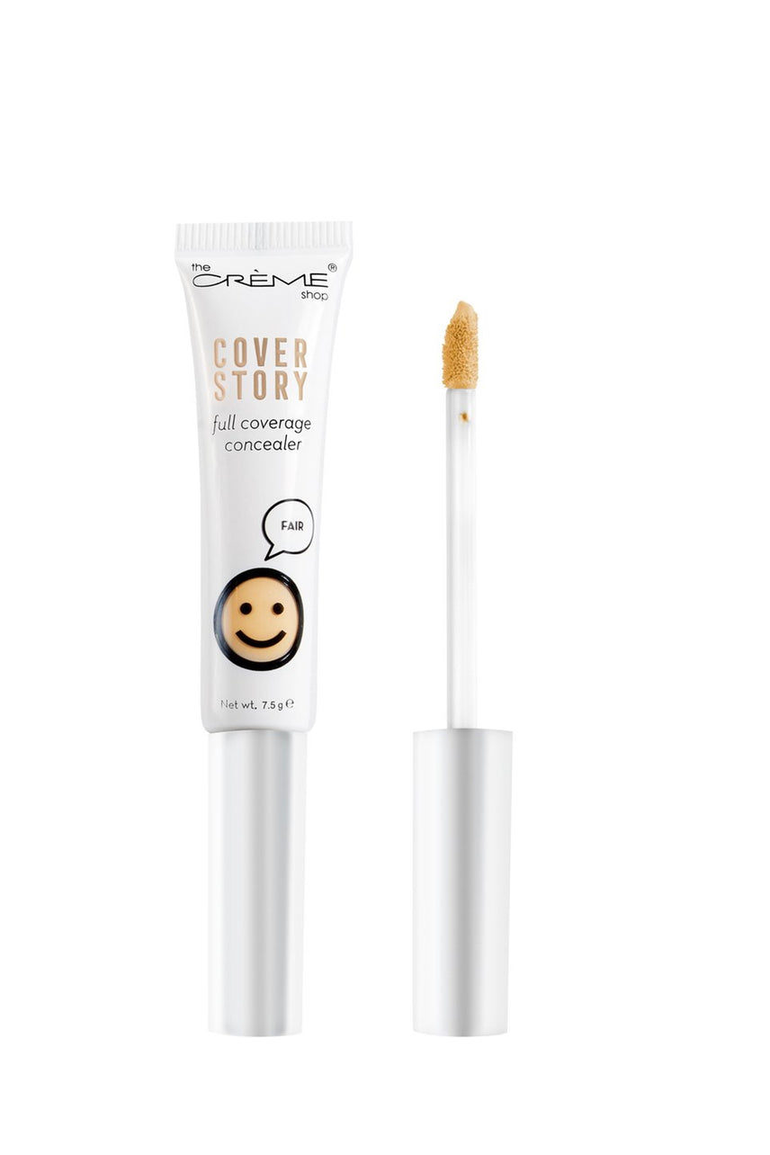 THE CRÈME SHOP Cover Story Full Coverage Concealer in Fair 7.5g - Life Pharmacy St Lukes