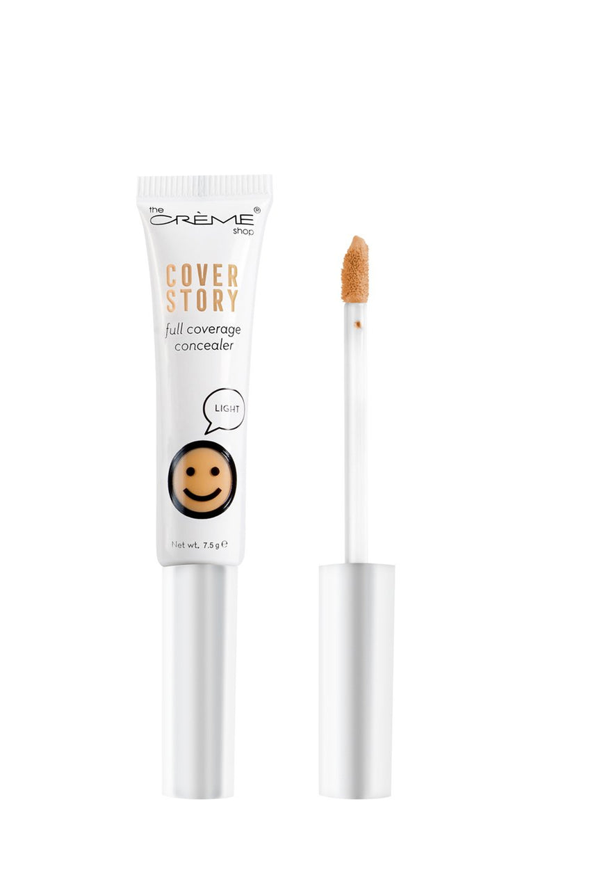 THE CRÈME SHOP Cover Story Full Coverage Concealer in Light  7.5g - Life Pharmacy St Lukes