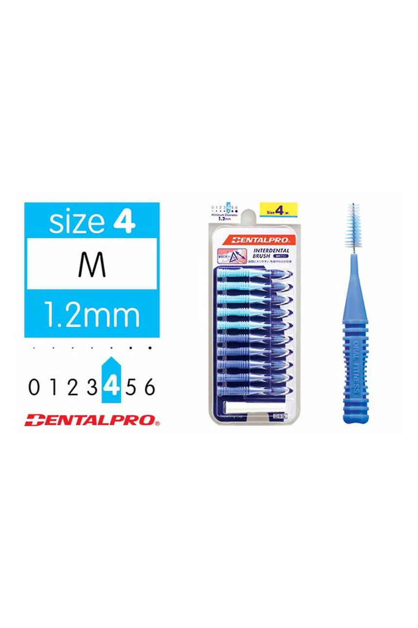 DENTALPRO Interdental Brush Size 4 Blue - Life Pharmacy St Lukes