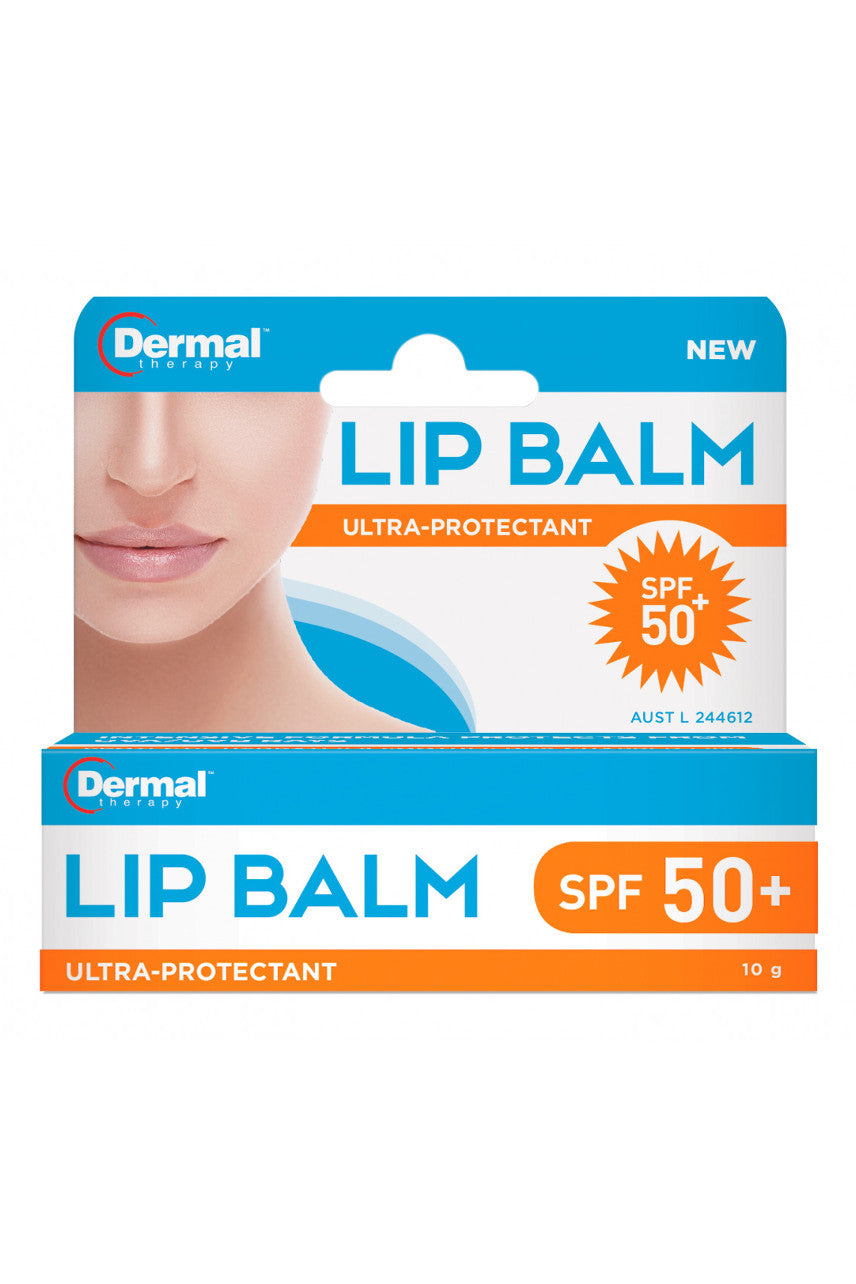 DERMAL THERAPY Lip Balm SPF50+ 10g - Life Pharmacy St Lukes