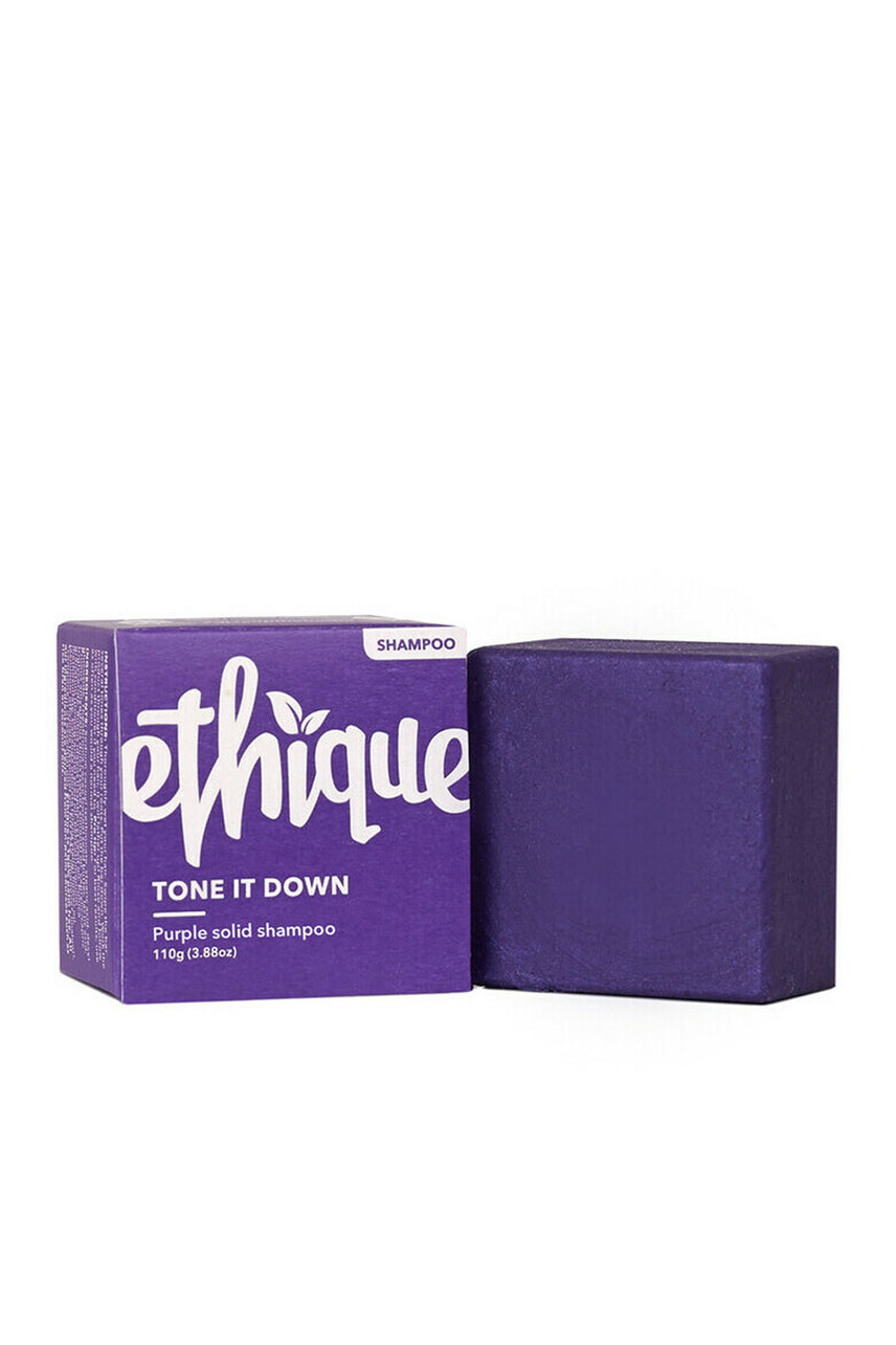 ETHIQUE Tone It Down Purple solid shampoo 110g - Life Pharmacy St Lukes