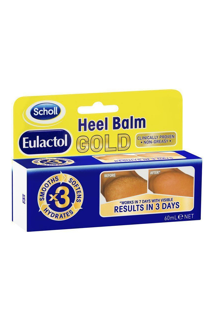 EULACTOL Heel Balm Gold 60ml - Life Pharmacy St Lukes