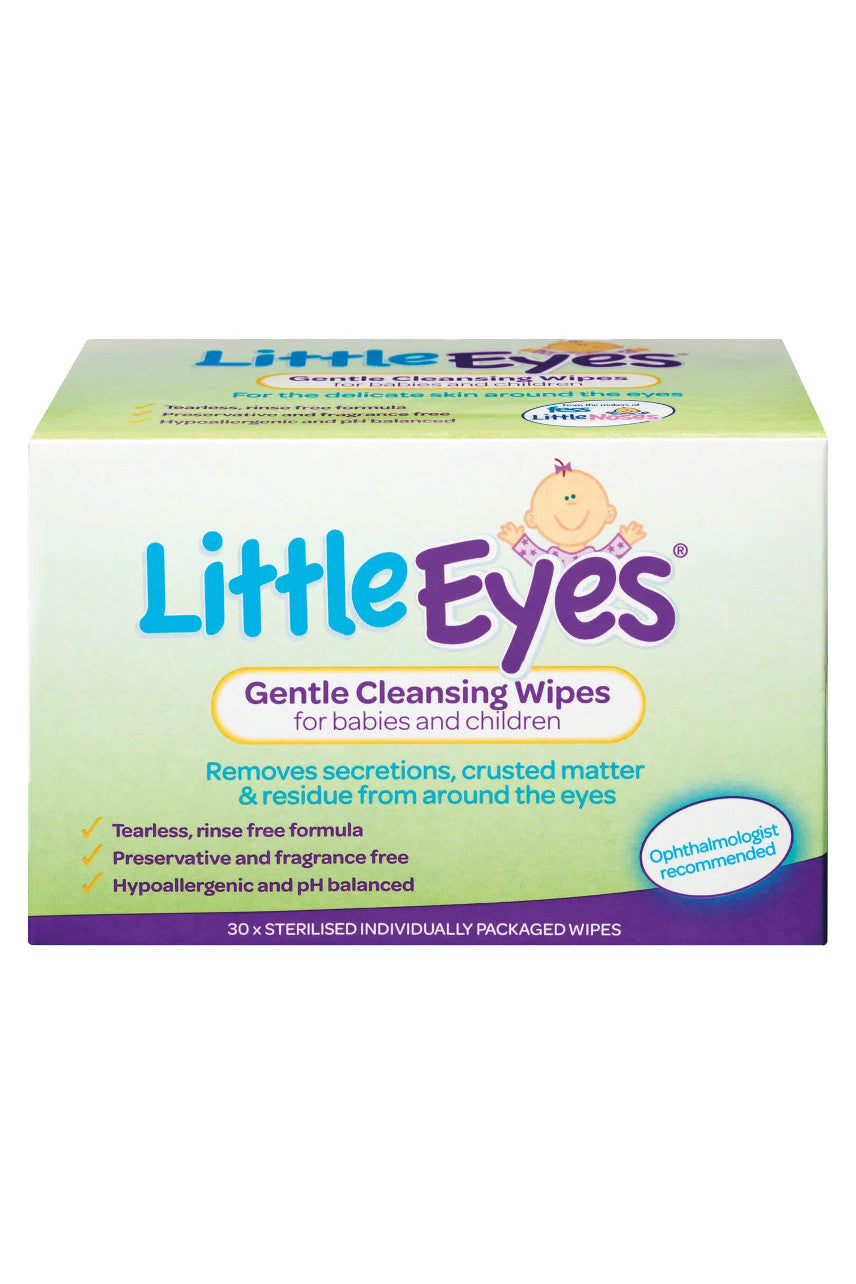 FESS Little Eyes Wipes 30s - Life Pharmacy St Lukes
