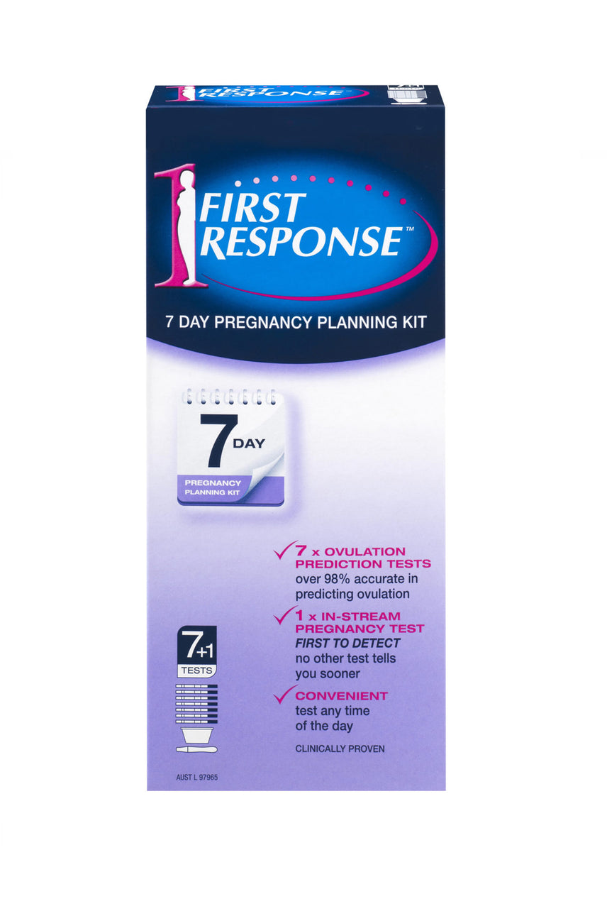 FIRST Response 7 Day Pregnancy Planning Kit - Life Pharmacy St Lukes
