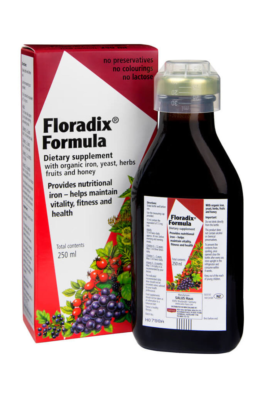 RED SEAL Floradix Tonic 250ml - Life Pharmacy St Lukes
