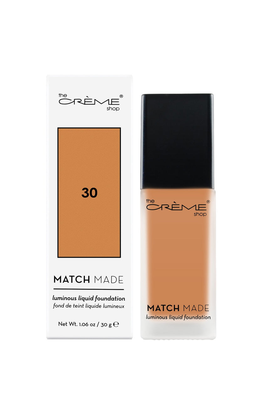 "THE CRÈME SHOP ""Match Made"" Luminous Liquid Foundation 30 30g - Life Pharmacy St Lukes"