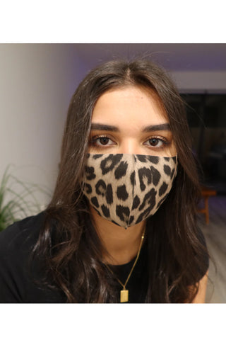 Queen Of The Foxes Washable Reusable Face Masks 3s  - Leopard, Black, Plaid - Life Pharmacy St Lukes