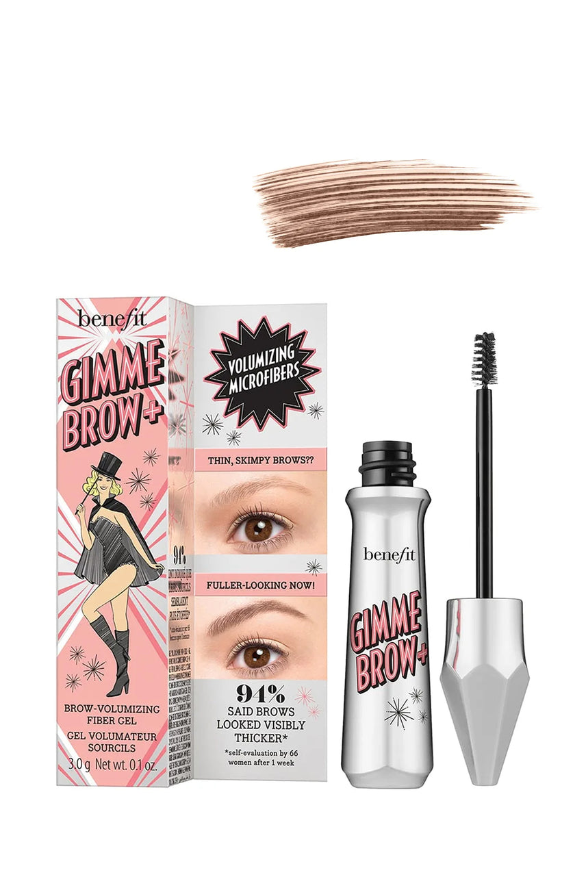 BENEFIT Gimme Brow+ Volumising Eyebrow Gel 3.5 Warm Auburn Brown 3g - Life Pharmacy St Lukes