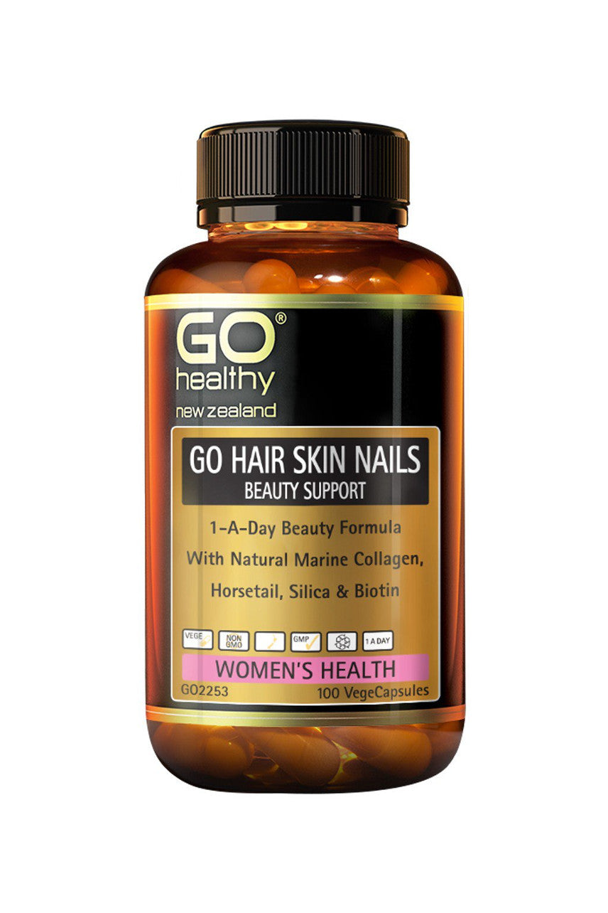 GO HEALTHY Hair Skin Nails Beauty Support 100vcap - Life Pharmacy St Lukes