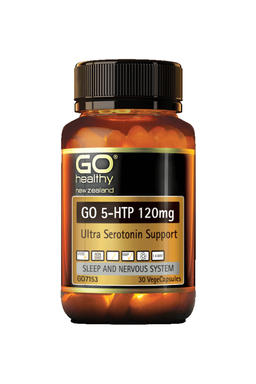 GO Healthy 5-HTP 120mg 30vcaps - Life Pharmacy St Lukes