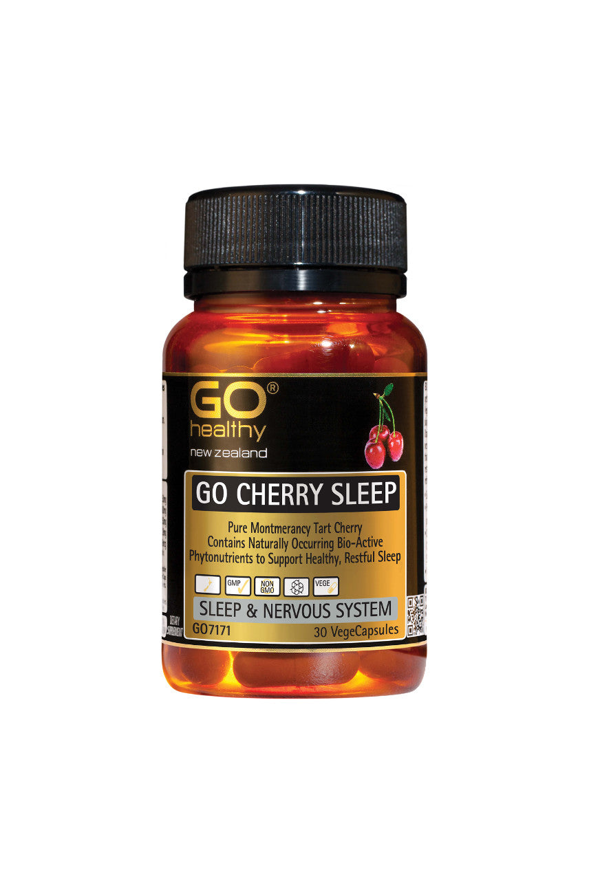 GO HEALTHY Cherry Sleep 30 Vege Capsules - Life Pharmacy St Lukes