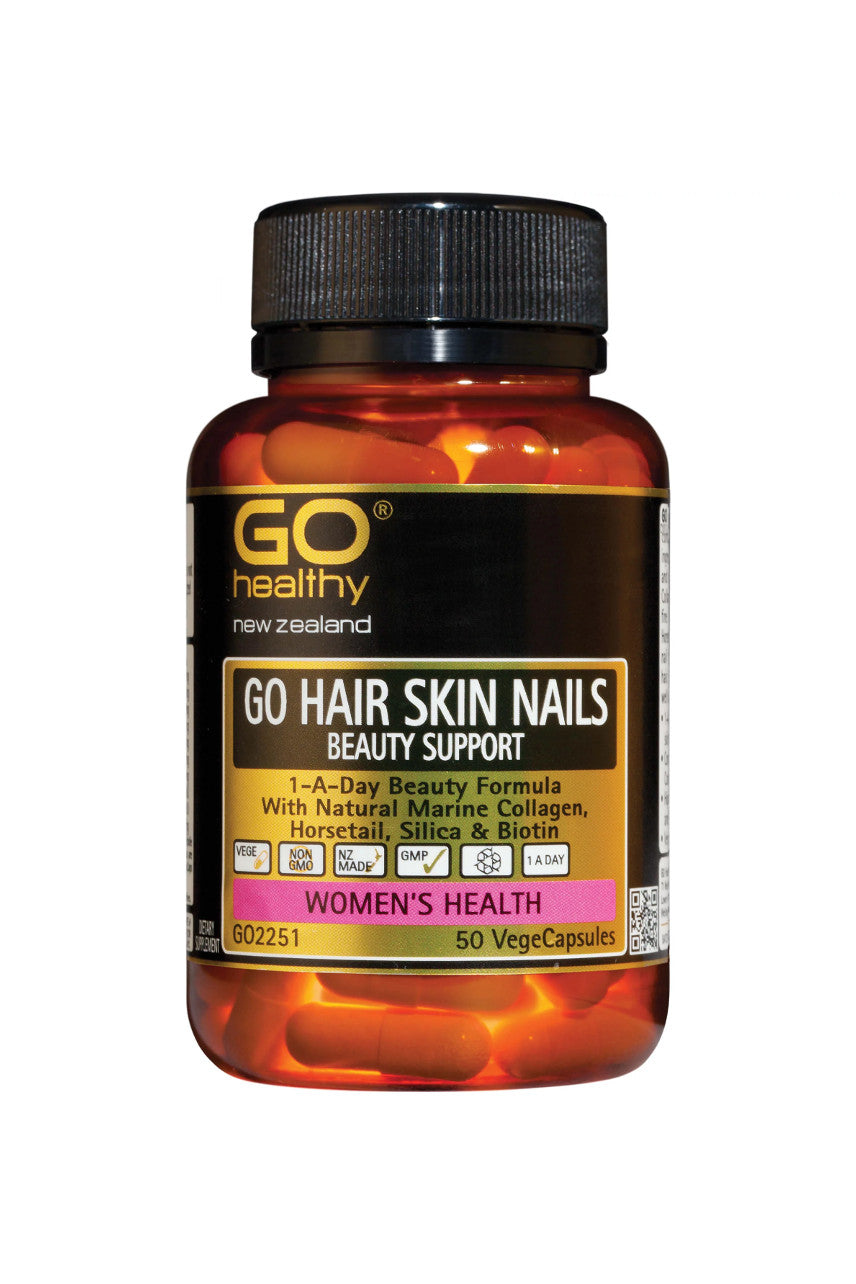 GO HEALTHY Hair Skin Nails Beauty Support 50vcap - Life Pharmacy St Lukes