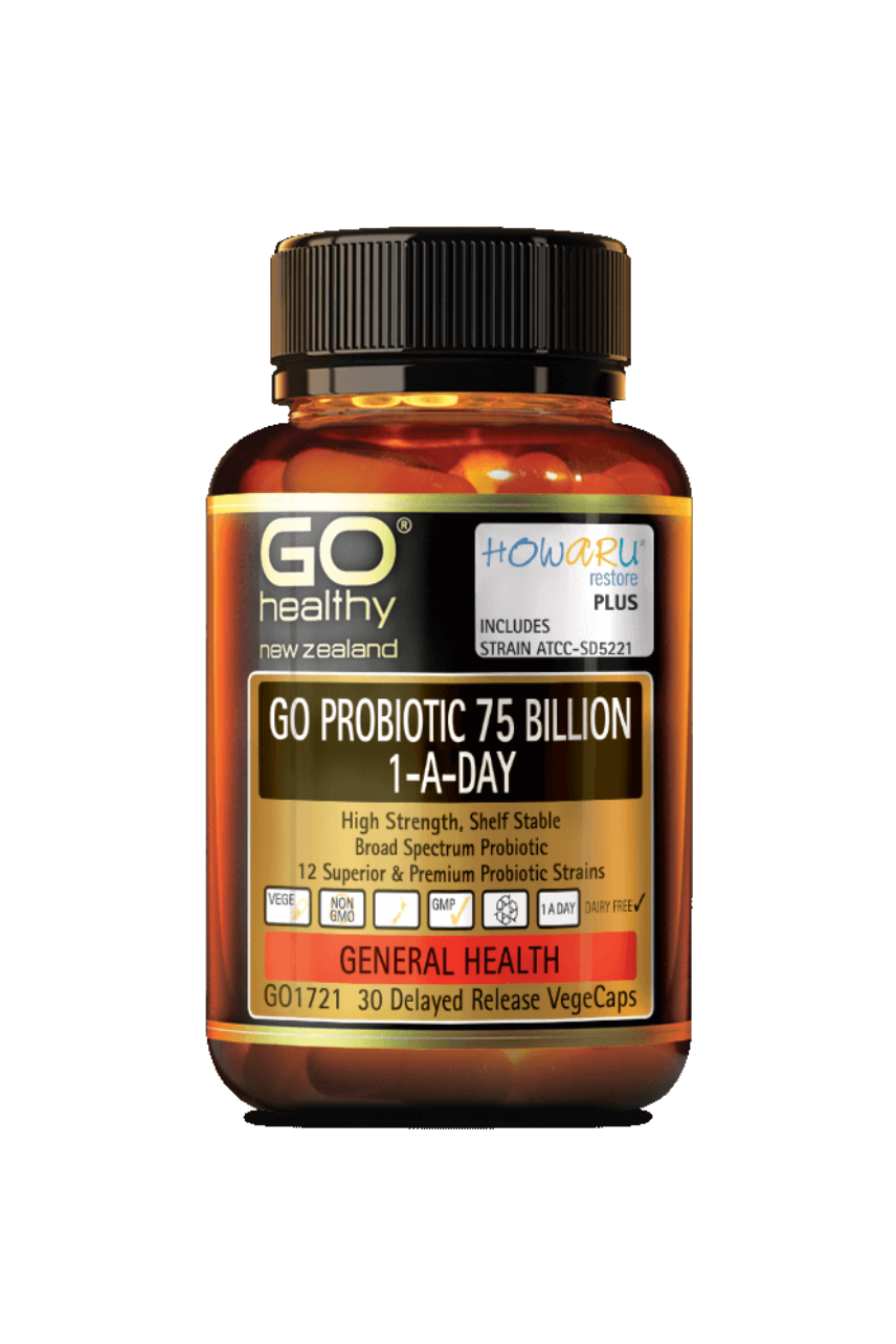 GO Healthy Probiotic 75 Billion 30vcaps - Life Pharmacy St Lukes