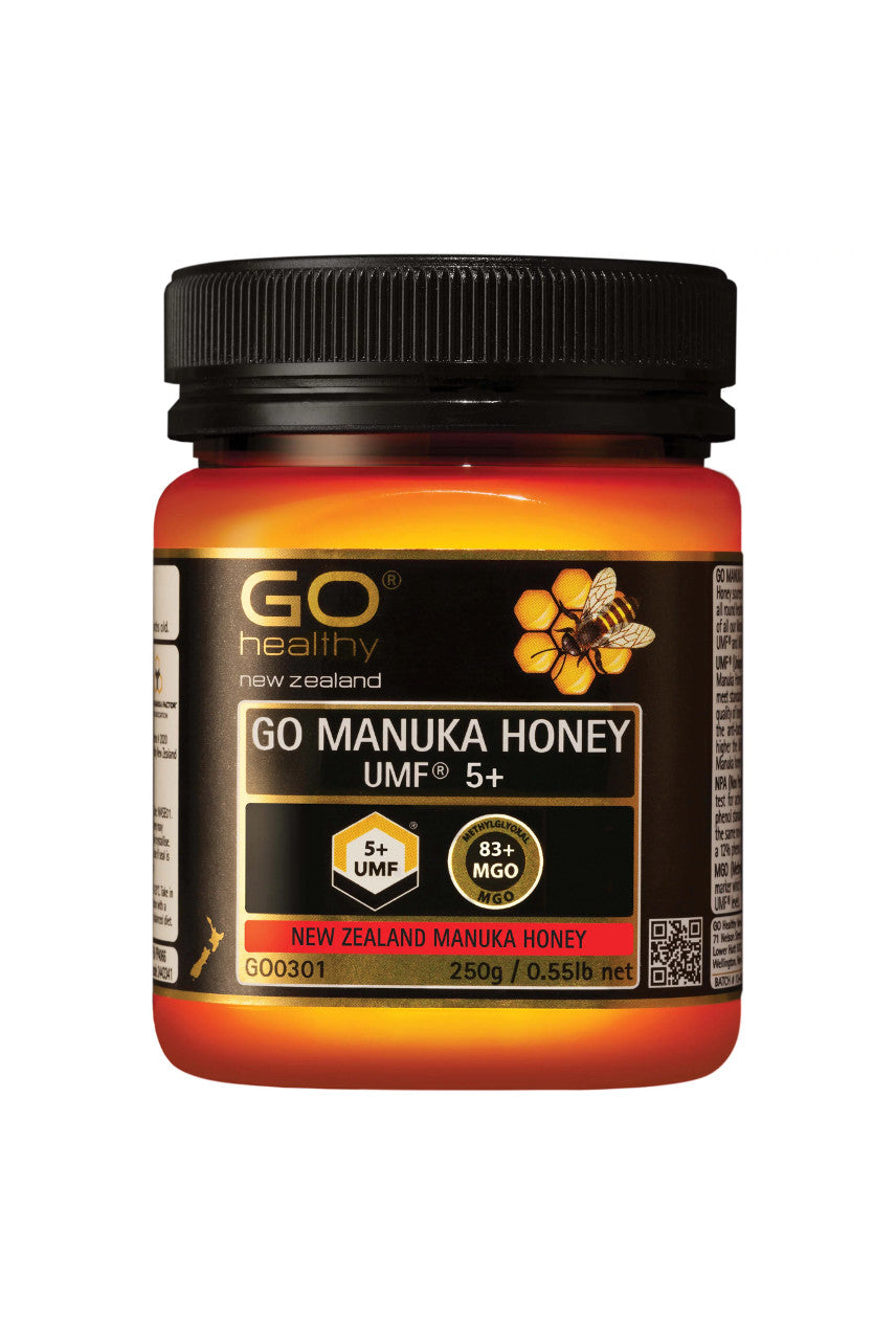 GO HEALTHY Manuka Honey UMF 5+ 250g - Life Pharmacy St Lukes