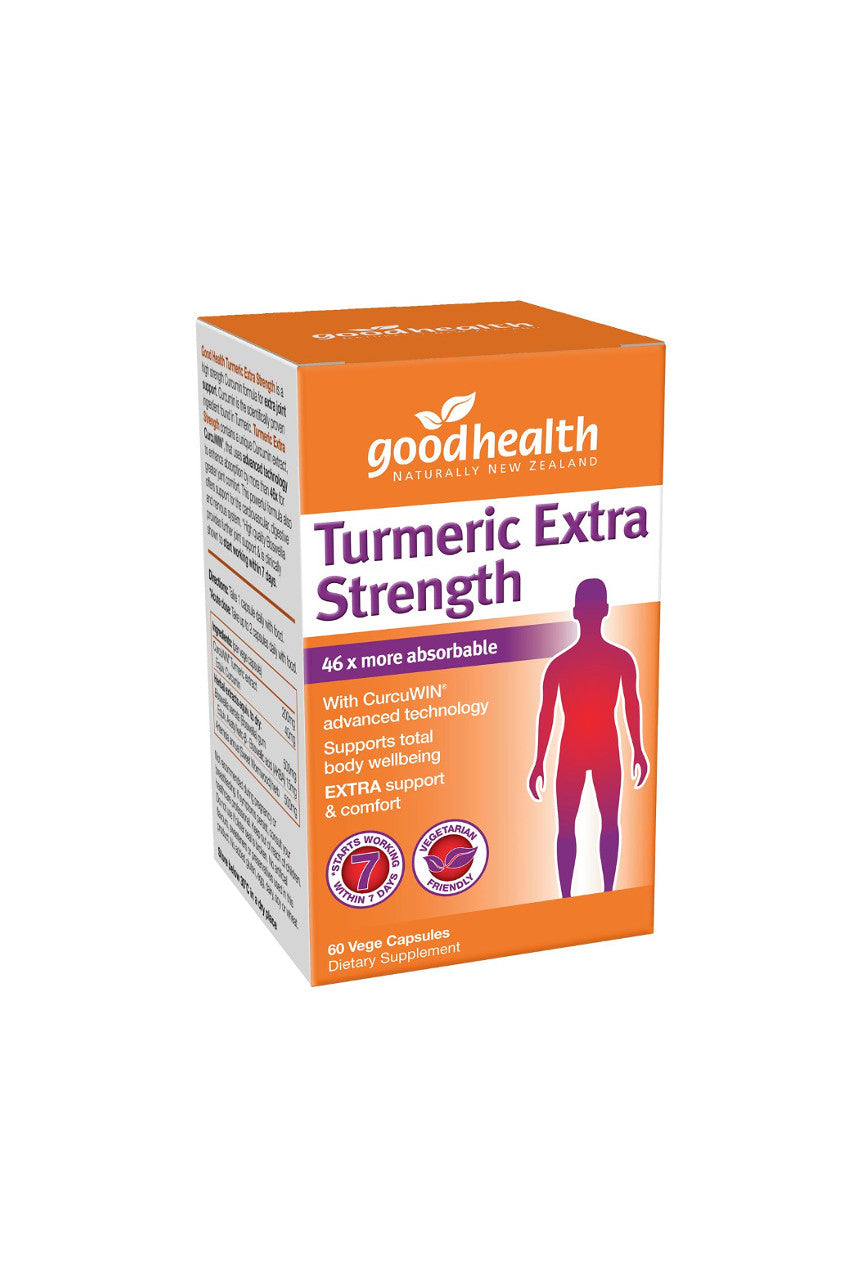 GOOD HEALTH Turmeric Extra Strength 60caps - Life Pharmacy St Lukes