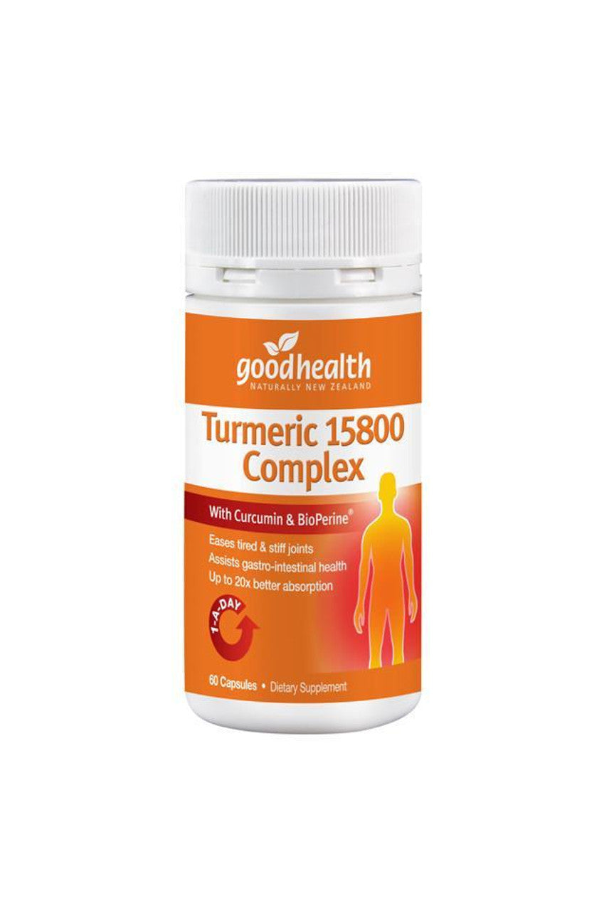 GOOD HEALTH Turmeric 15800 Complex 60caps - Life Pharmacy St Lukes