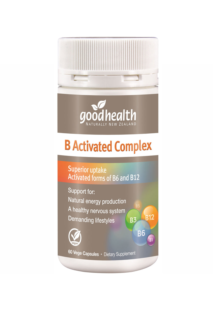 GOOD HEALTH B Activated Complex 60 Capsules - Life Pharmacy St Lukes