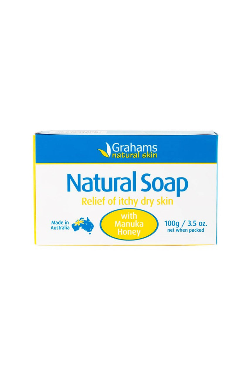 GRAHAMS Natural Soap 100g - Life Pharmacy St Lukes