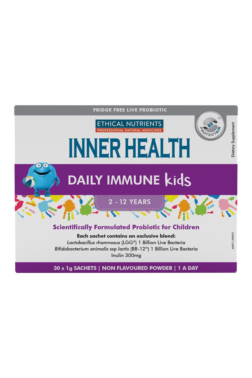 ETHICAL NUTRIENTS Inner Health Daily Immune Kids Sachets 30x1g - Life Pharmacy St Lukes