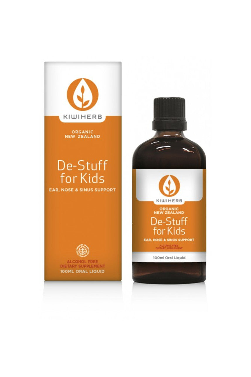 KIWI HERB De-Stuff For Kids 100ml - Life Pharmacy St Lukes