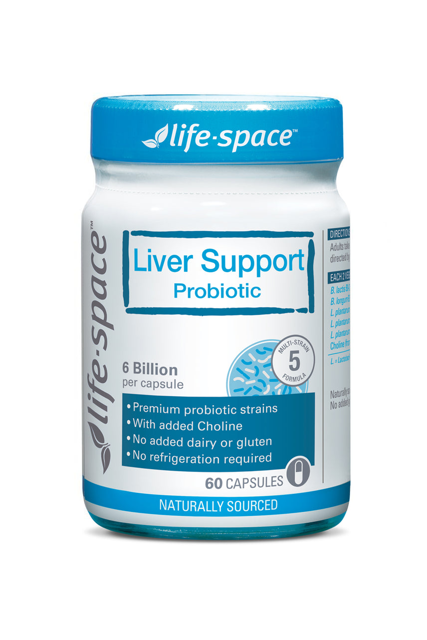 Life-Space Probiotic Liver Support 60 Capsules - Life Pharmacy St Lukes