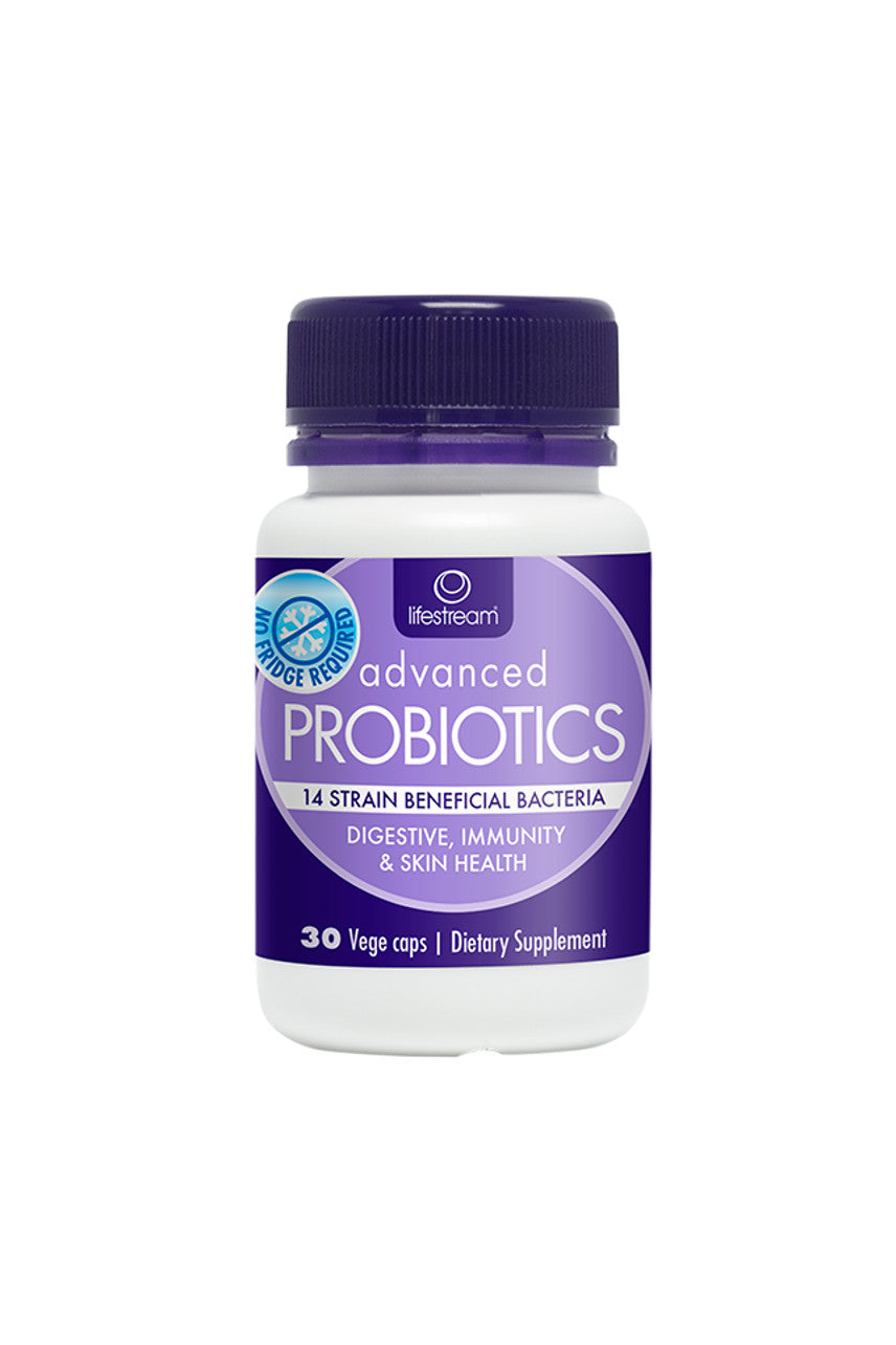 LIFESTREAM Advanced Probiotics 30 Capsules - Life Pharmacy St Lukes