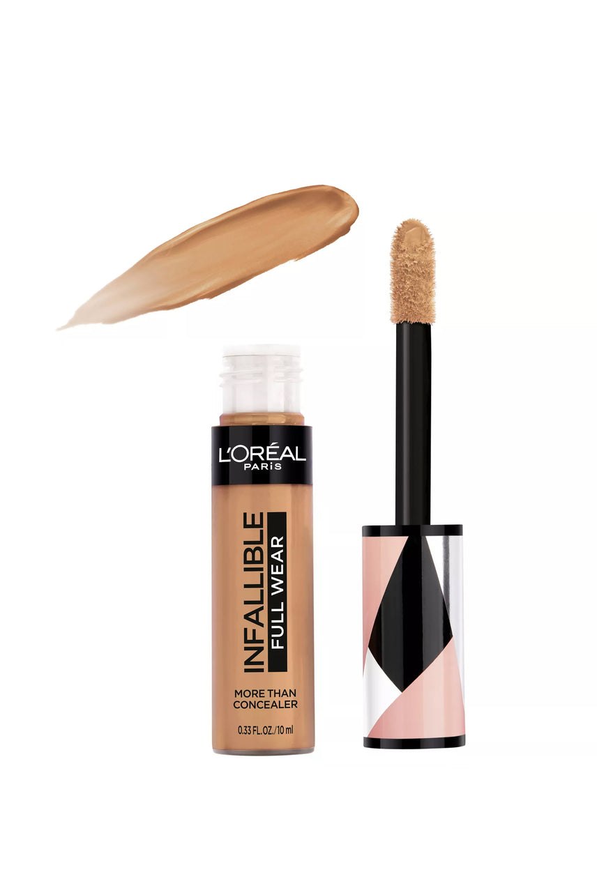 L'Oreal Paris Infallible Full Wear Concealer Waterproof Full Coverage 337 Almond 10ml - Life Pharmacy St Lukes