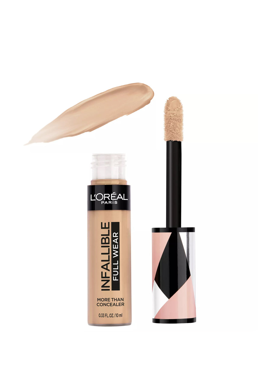 L'Oreal Paris Infallible Full Wear Concealer Waterproof Full Coverage 328 Biscuit 10ml - Life Pharmacy St Lukes