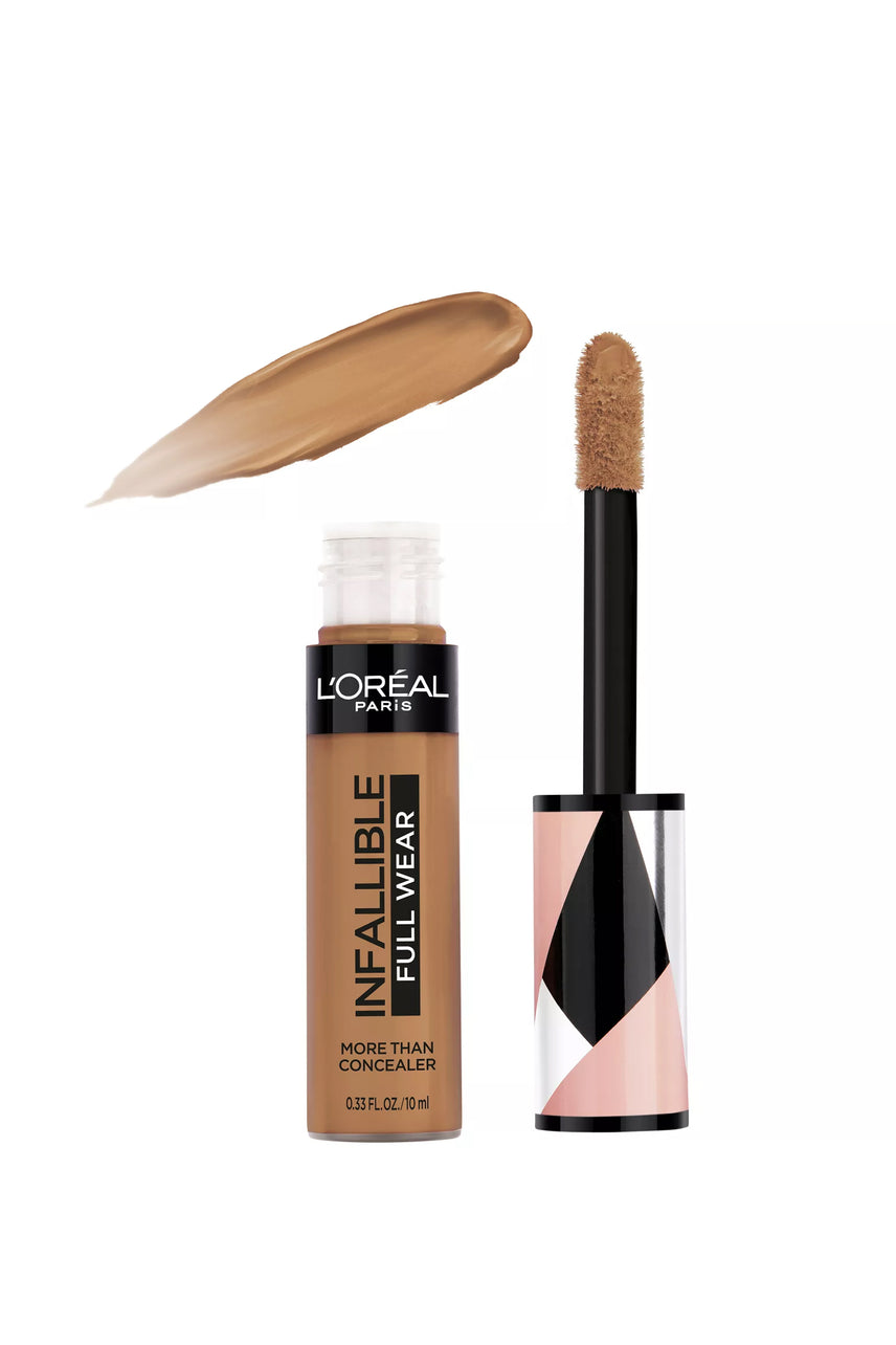 L'Oreal Paris Infallible Full Wear Concealer Waterproof Full Coverage 338 Honey 10ml - Life Pharmacy St Lukes