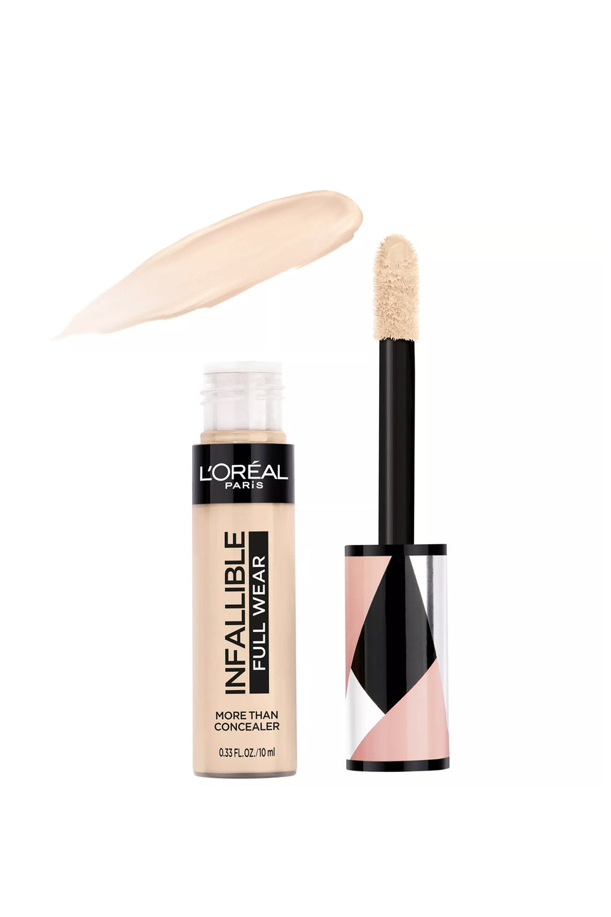 L'Oreal Paris Infallible Full Wear Concealer Waterproof Full Coverage 322 Ivory 10ml - Life Pharmacy St Lukes