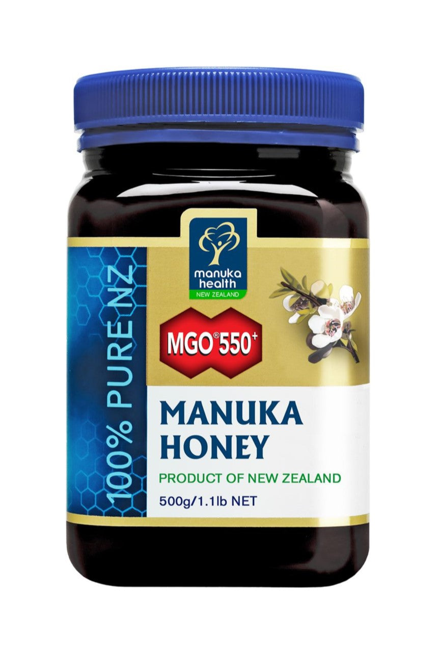 MANUKA HEALTH MGO550+ Manuka Honey 500g - Life Pharmacy St Lukes