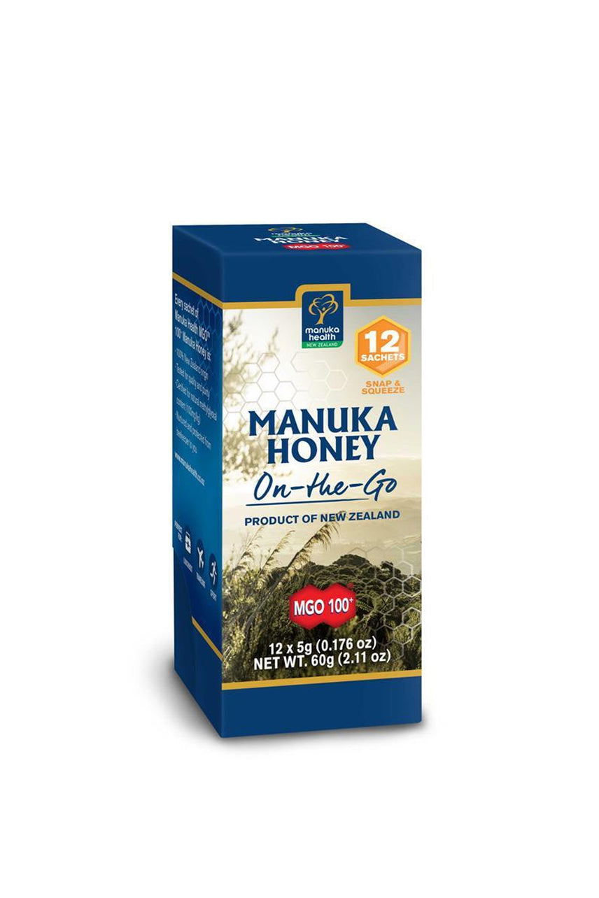 MANUKA HONEY MGO™ 100+ Manuka Honey On-The-Go 12pack - Life Pharmacy St Lukes