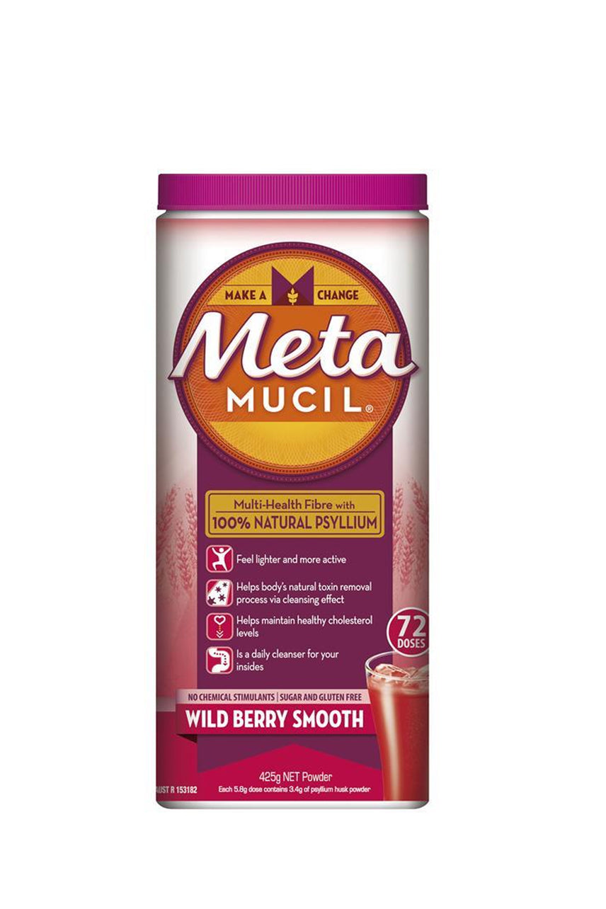 METAMUCIL  Fibre Supplement Smooth Wild Berry 72 Doses - Life Pharmacy St Lukes