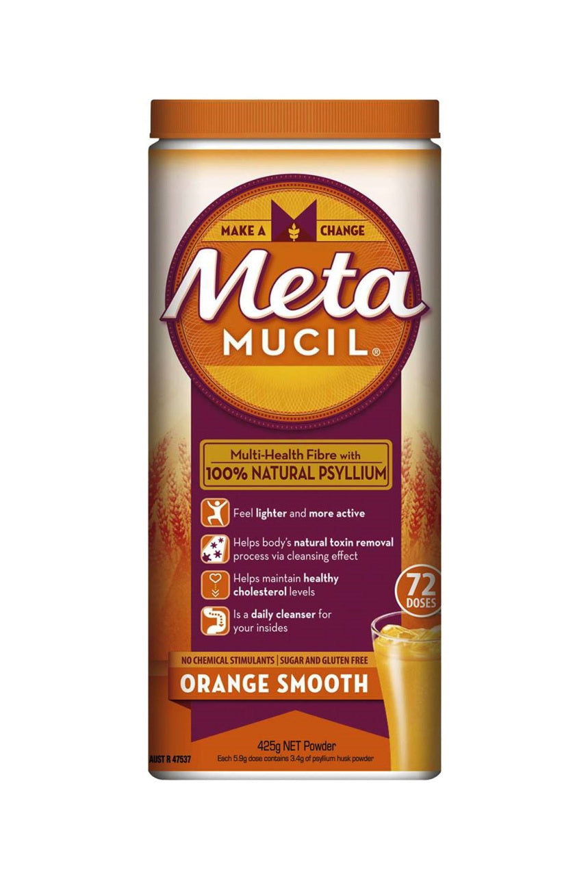 METAMUCIL Smooth Orange Fiber Powder 72 Doses - Life Pharmacy St Lukes