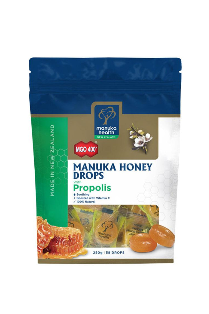 MANUKA HEALTH Manuka Honey Lozenges Propolis Pouch 250g - Life Pharmacy St Lukes