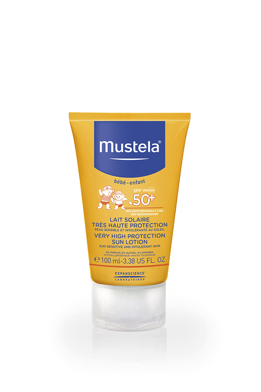 MUSTELA Very High Protection Sun Lotion - SPF 50+ - Life Pharmacy St Lukes