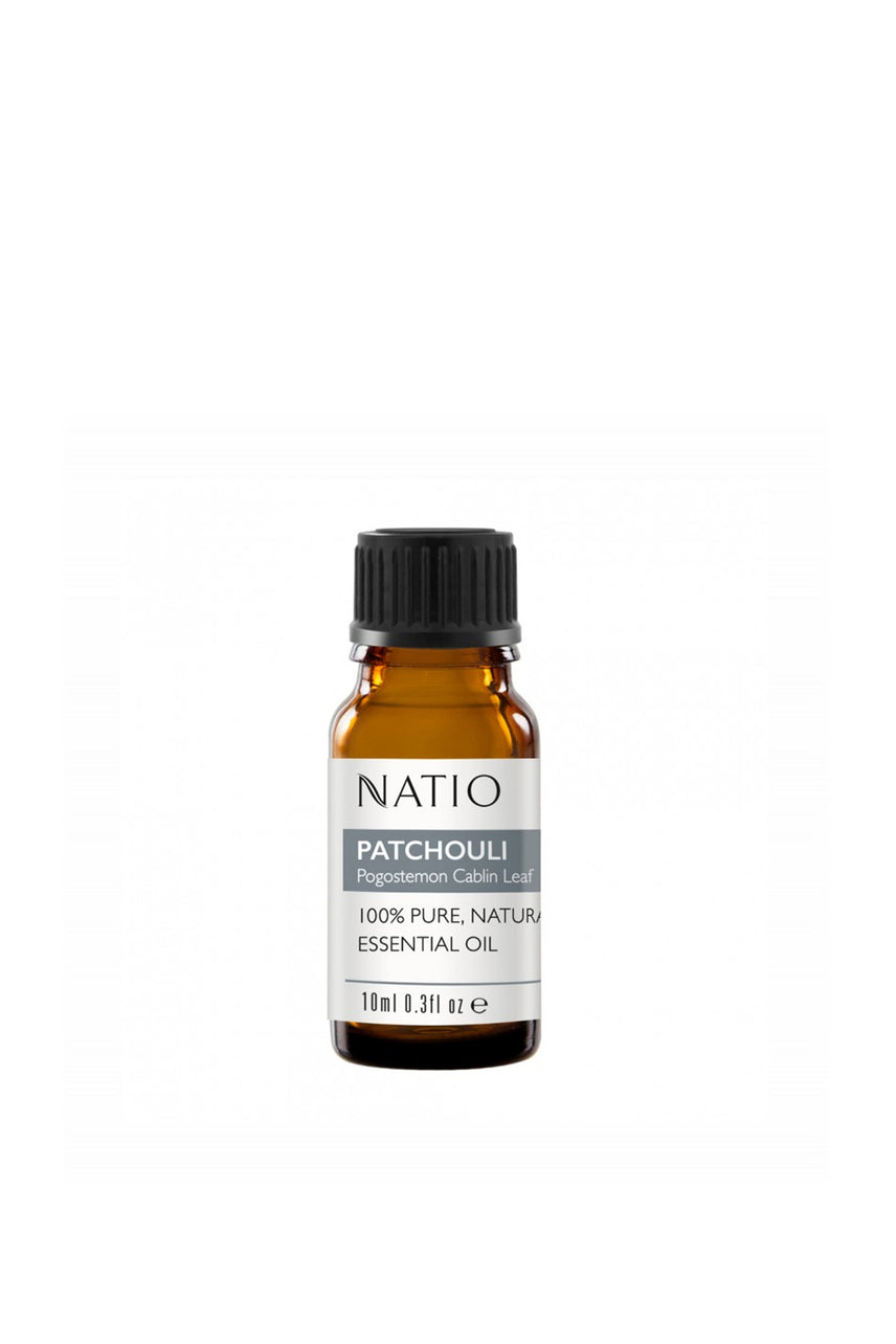 NATIO Pure Essential Oil Patchouli 10ml - Life Pharmacy St Lukes