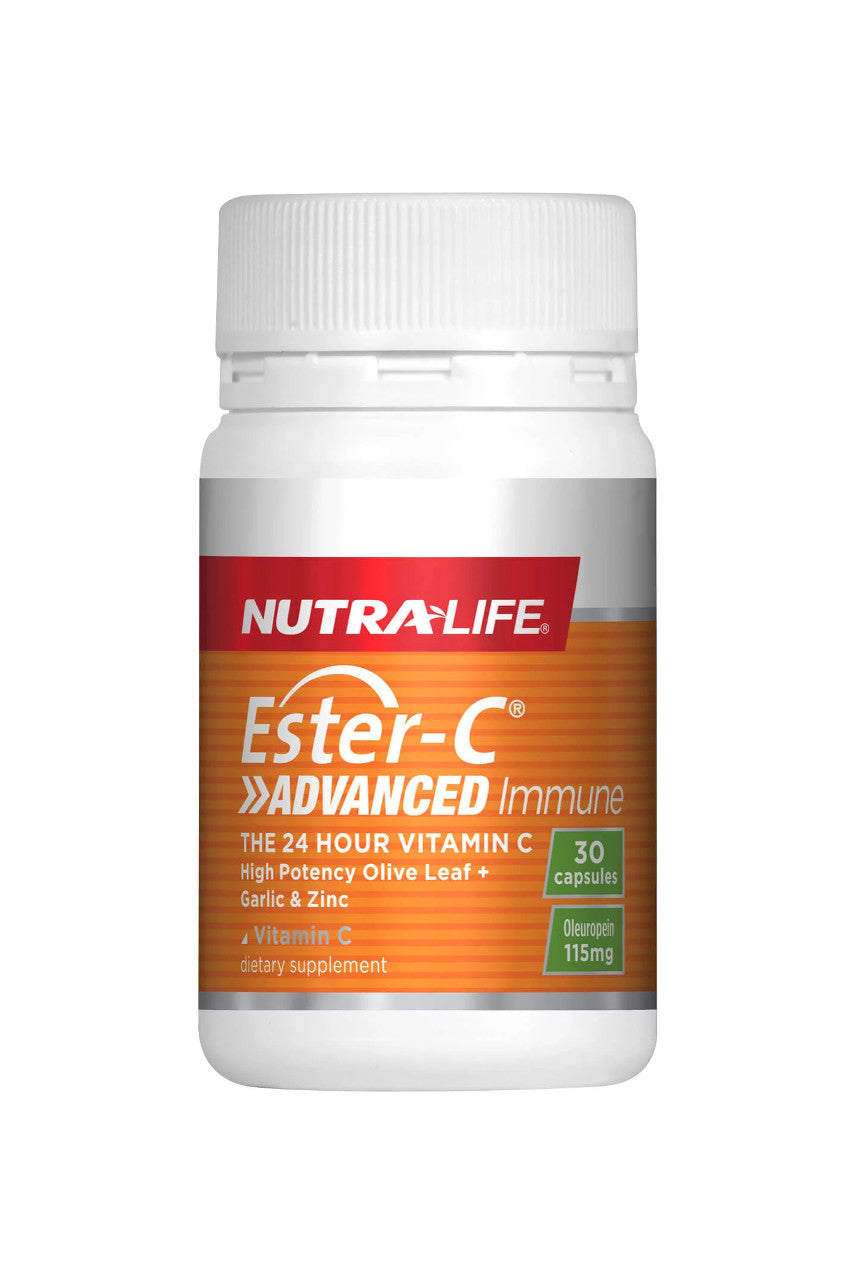 NUTRALIFE Ester C Advanced Immune 30caps - Life Pharmacy St Lukes