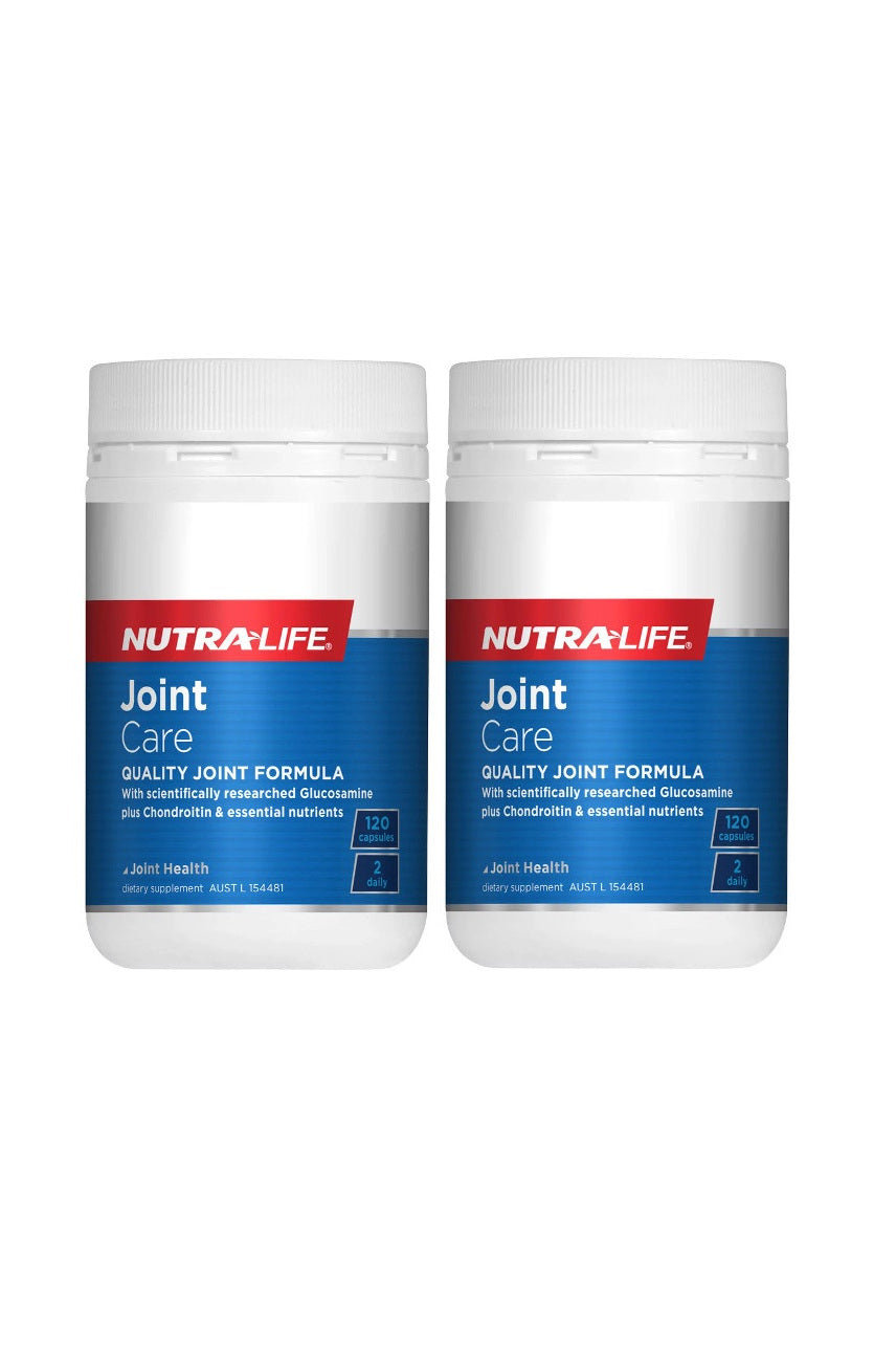 NUTRALIFE Joint Care 120caps Twin Pack - Life Pharmacy St Lukes