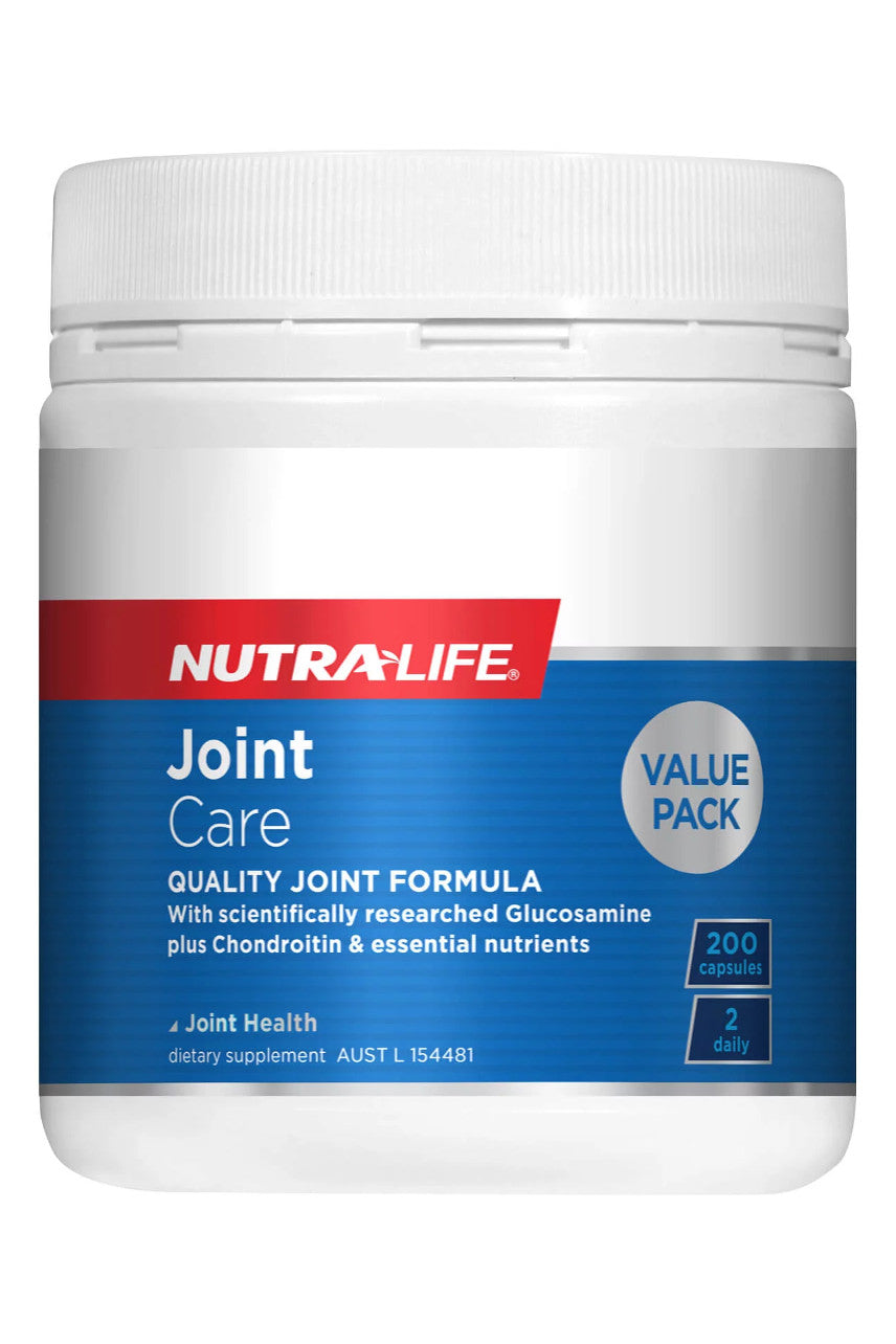 NUTRALIFE Joint Care 200caps - Life Pharmacy St Lukes
