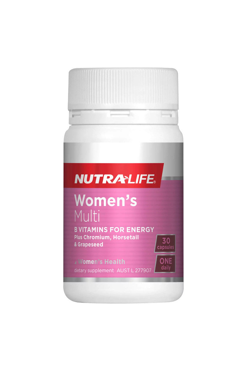 NUTRALIFE Womens Multi 1-a-Day 30 caps - Life Pharmacy St Lukes