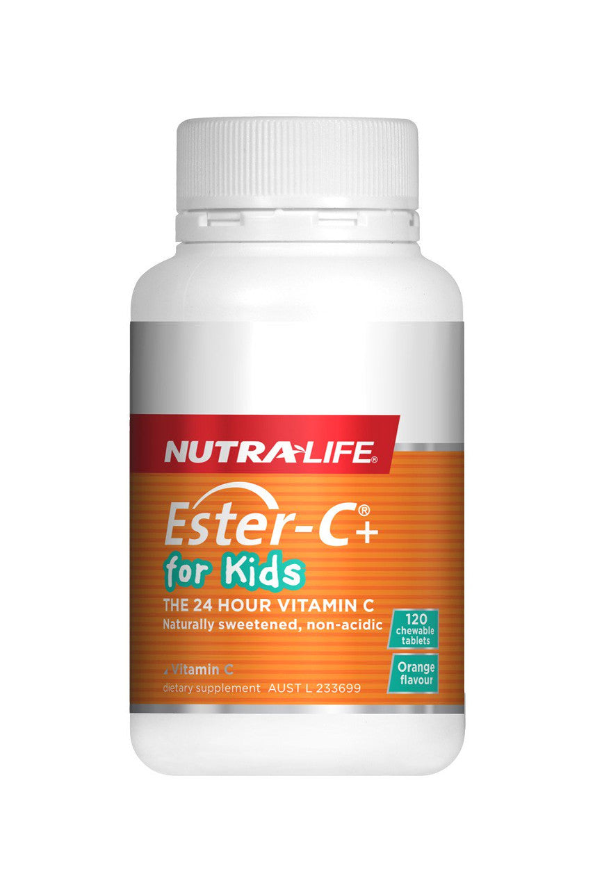 NUTRALIFE Ester-C for Kids 120tabs - Life Pharmacy St Lukes