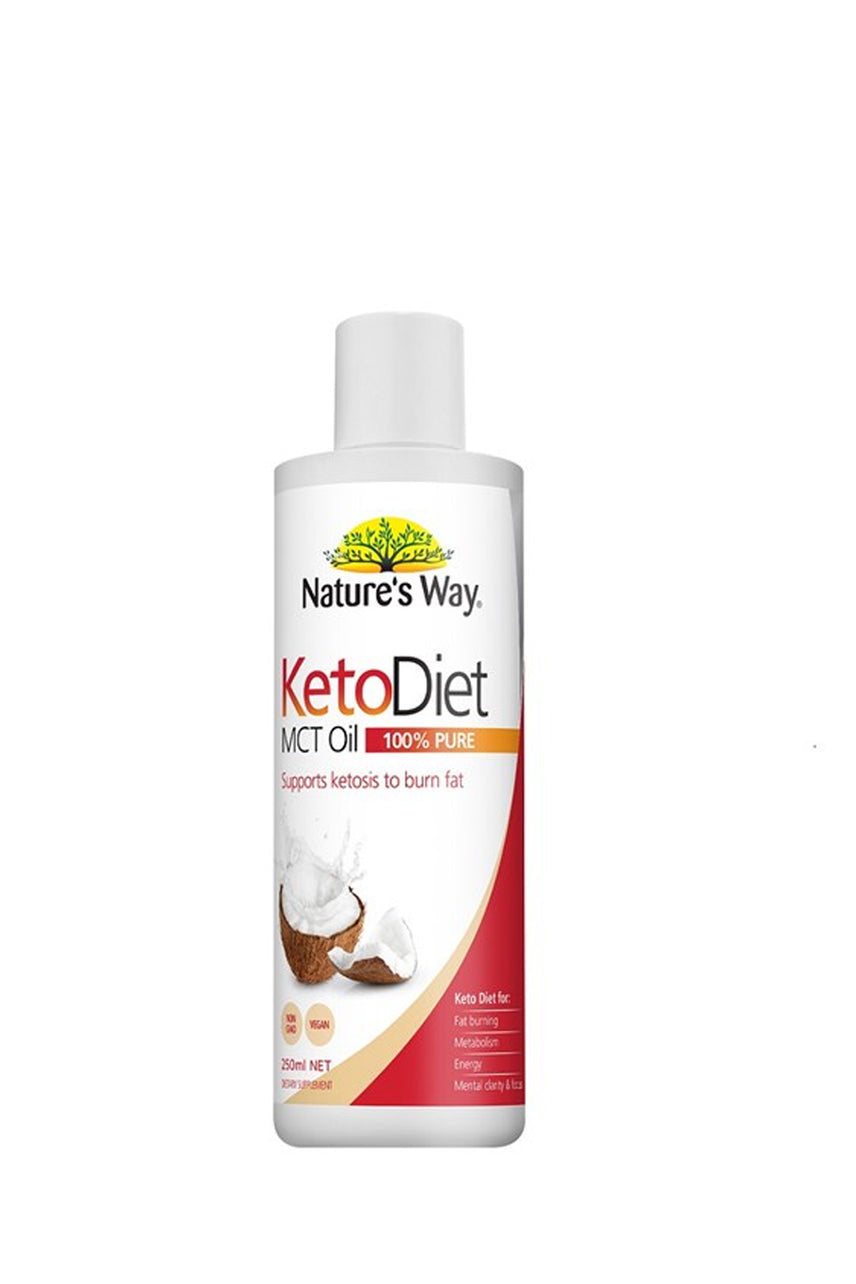 NATURE'S WAY Keto Diet MCT Oil 250ml - Life Pharmacy St Lukes