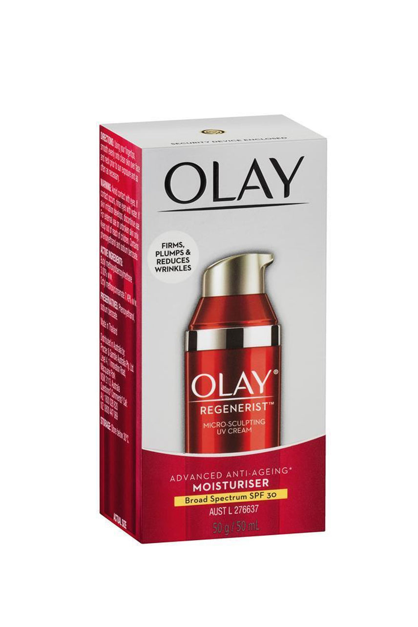 OLAY Regenerist Micro-Sculpting Cream Face Moisturiser with SPF 30 Broad Spectrum - Life Pharmacy St Lukes