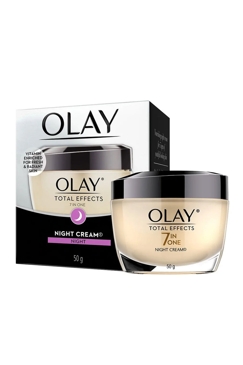 OLAY Total Effects Face Night Cream 50g - Life Pharmacy St Lukes