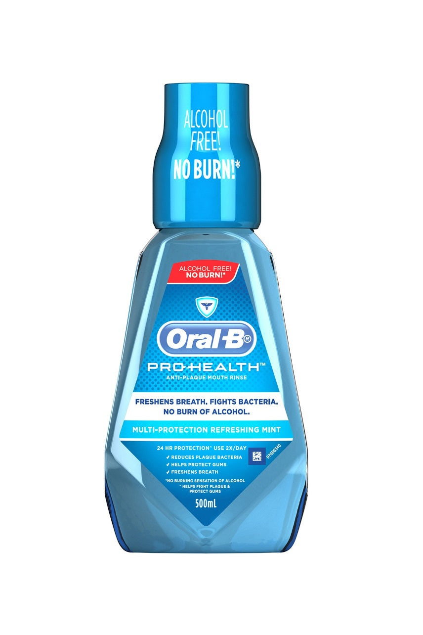 ORAL B Multi Protection Rinse 500ml - Life Pharmacy St Lukes