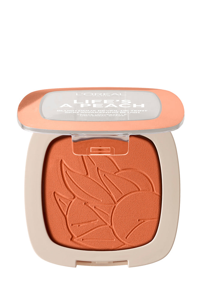L'Oreal Wake Up & Glow - Life's a Peach Blush Powder #01 Peach - Life Pharmacy St Lukes