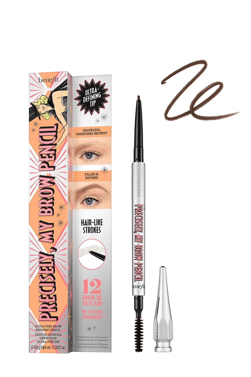 BENEFIT Precisely, My Brow Eyebrow Pencil 04 Warm Deep Brown - Life Pharmacy St Lukes