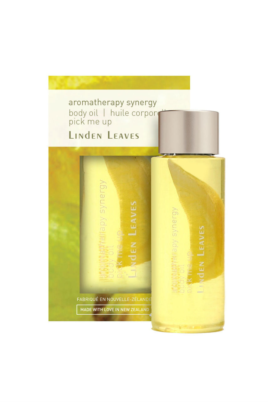 LINDEN LEAVES Aromatherapy Synergy Body Oil Pick Me Up 60ml - Life Pharmacy St Lukes
