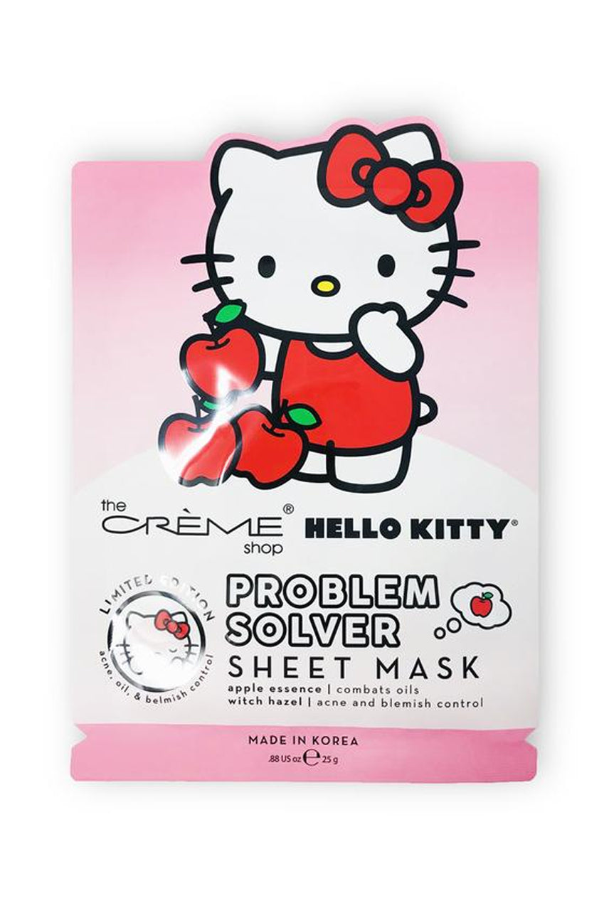 THE CRÈME SHOP Hello Kitty Sheet Mask Problem Solver 25g - Life Pharmacy St Lukes